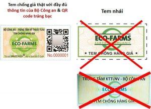 Cách phân biệt tem chống hàng giả hạt chia Úc