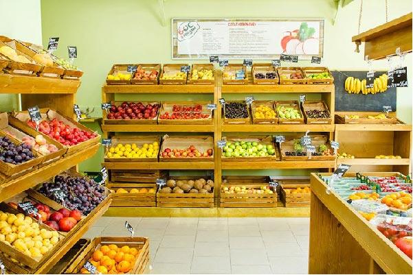 Cửa hàng trái cây bán chuối laba king