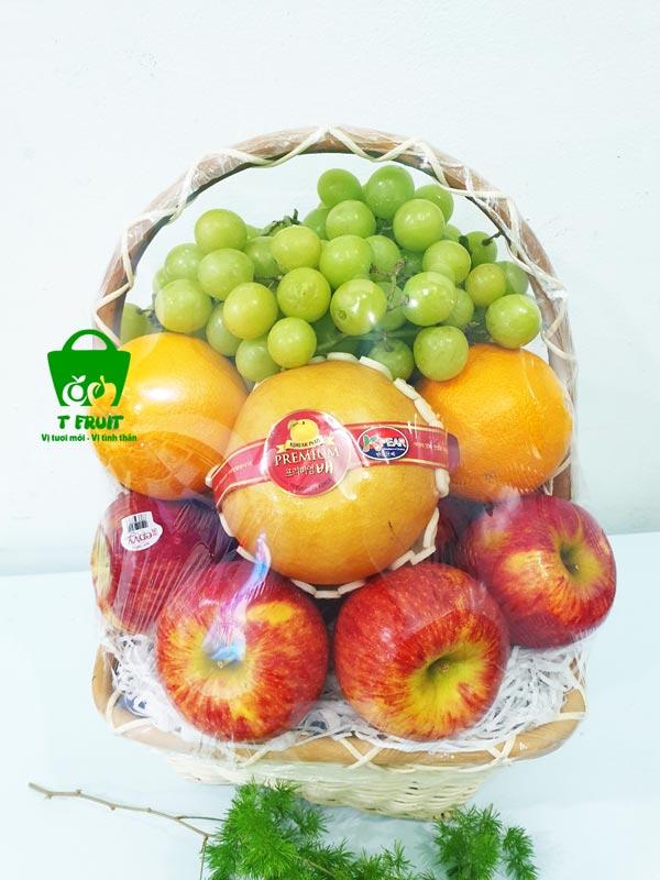 giỏ trái cây tặng chất lượng