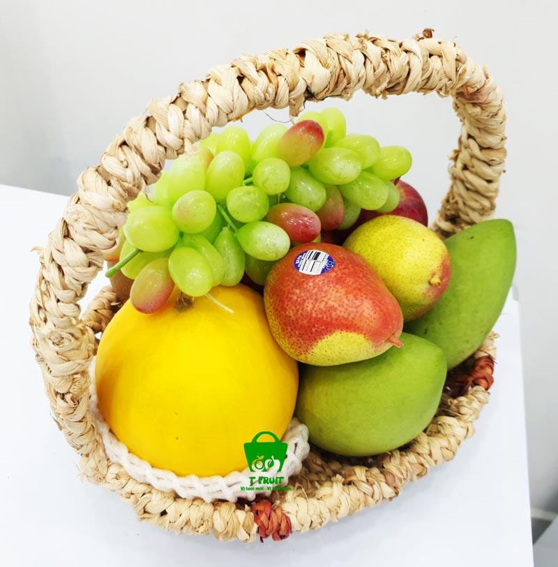 Chọn những loại trái cây tông màu nhẹ nhàng