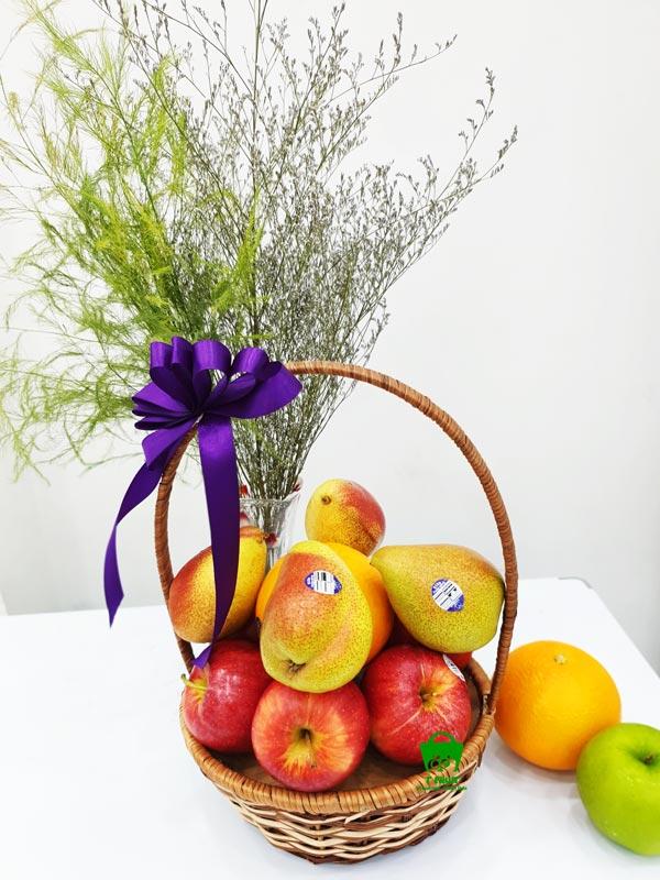 Giỏ trái cây cúng đám ma nhập khẩu