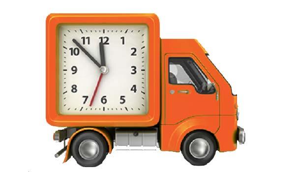 Thời gian và biểu phí giao hàng