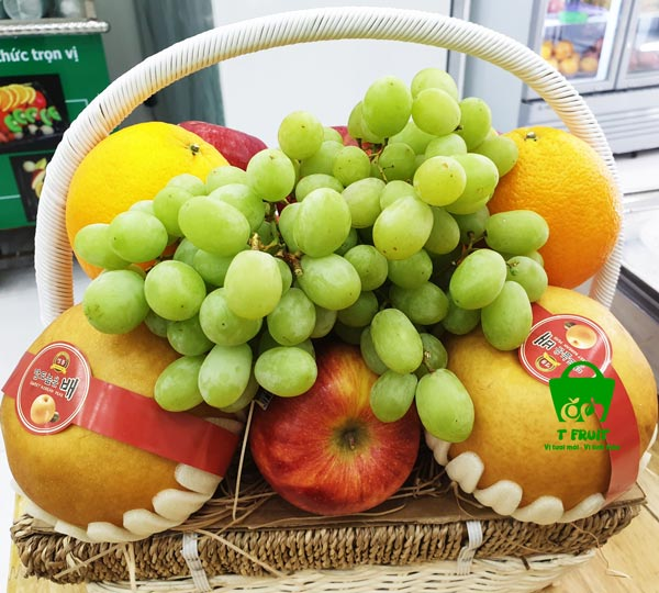 giỏ trái cây đám giỗ chất lượng