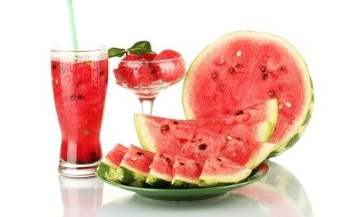dưa hấu là một trong trái cây thân thiện cho người ăn kiêng