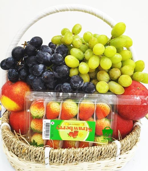 Giỏ trái cây thăm bệnh