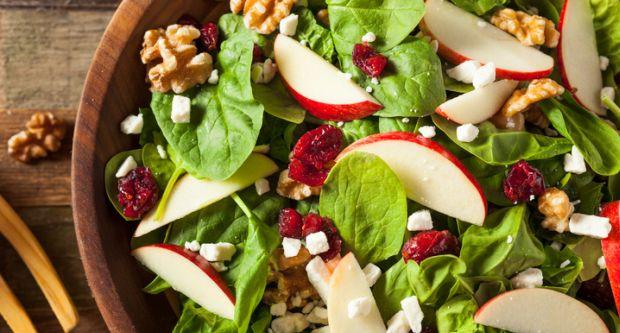 Salad làm từ quả táo