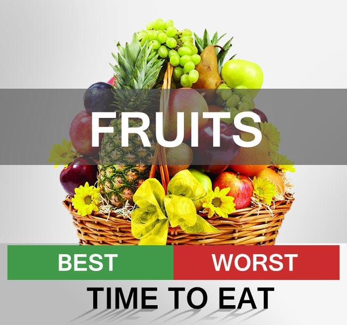 Bạn có biết thời gian nào ăn trái cây tốt nhất không?