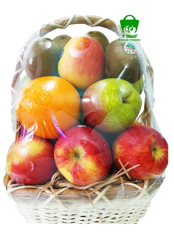 Giỏ trái cây sang trọng đám cúng