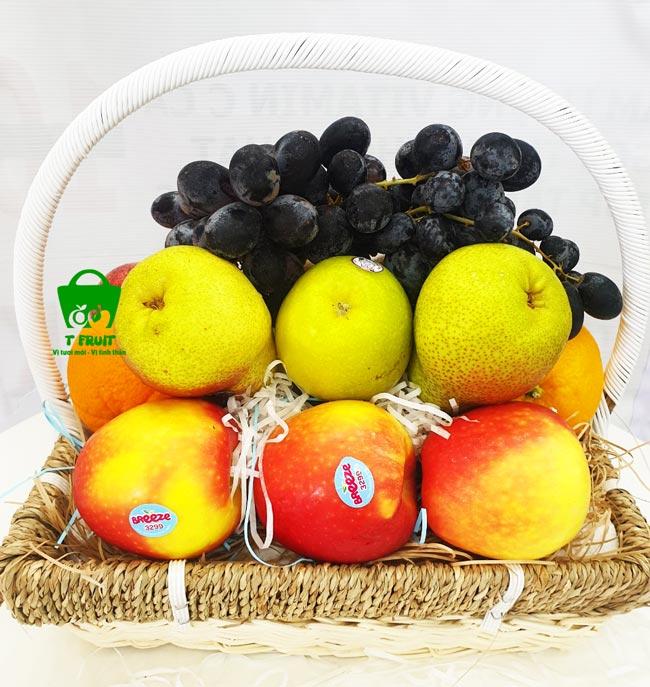 Giỏ trái cây chia buồn giá rẻ