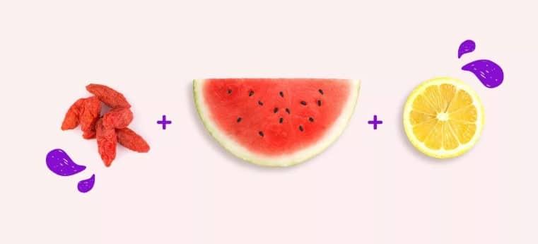trái cây buổi sáng