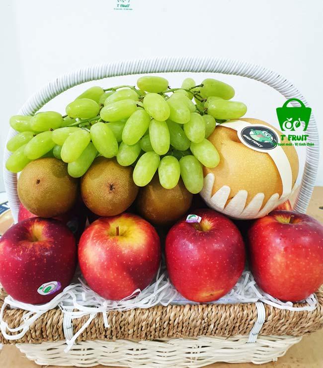 giỏ trái cây viếng đám ma