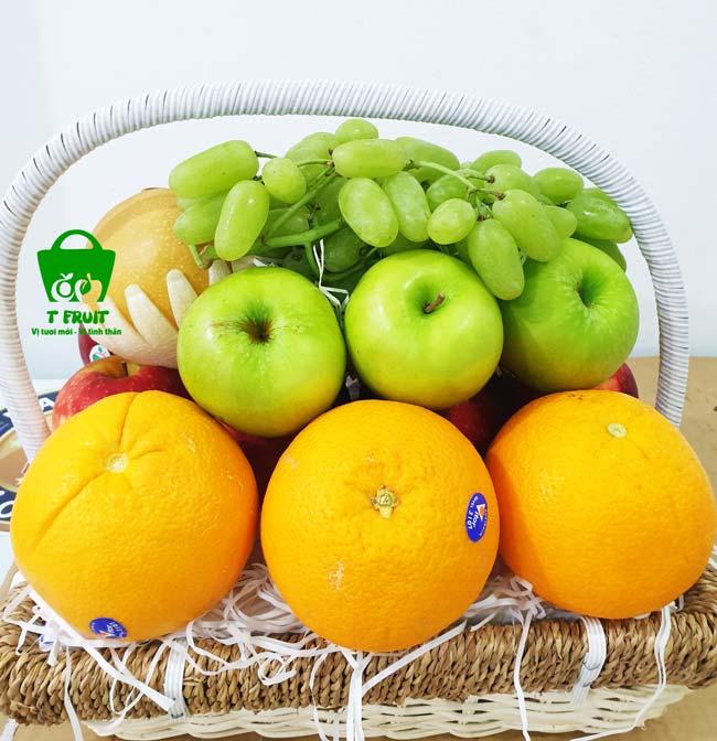 đám hỏi có cần mua giỏ trái cây