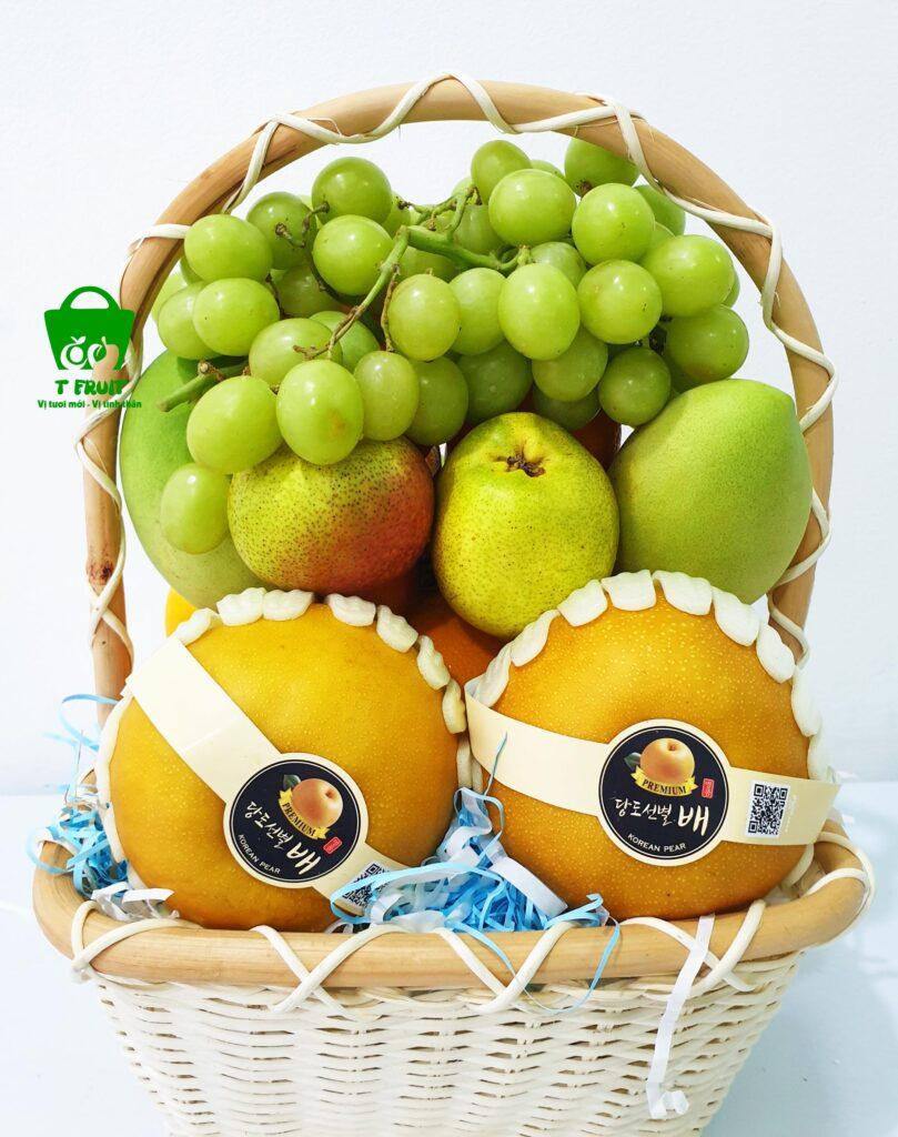 Giỏ trái cây ra mắt