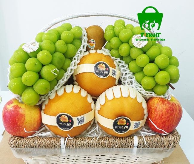 Giỏ trái cây đẹp chất lừ