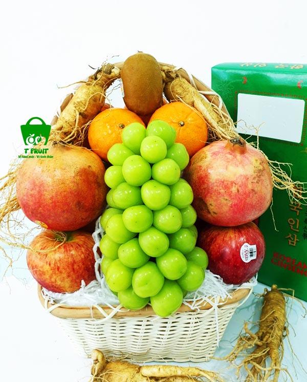 giỏ trái cây để tặng