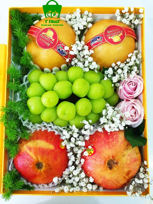 hộp trái cây đẹp