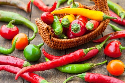 lợi ích của quả ớt mang lại cho sức khỏe